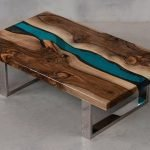 11 etapes pour faire une table riviere en resine epoxy